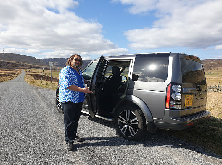 See Scotland in a Luxury 4X4